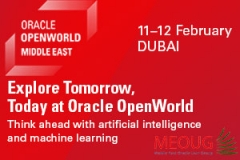 Oracle OpenWorld is Coming to the Middle East! February 11 and 12, 2019