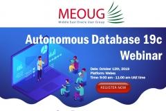 Webinar: Autonomous Database 19C